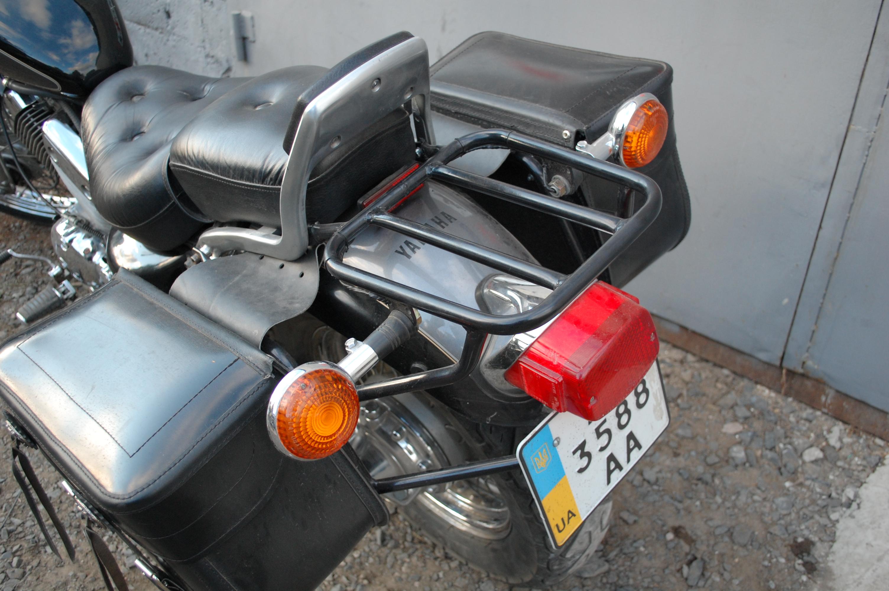 Две фары на мотоцикл своими руками