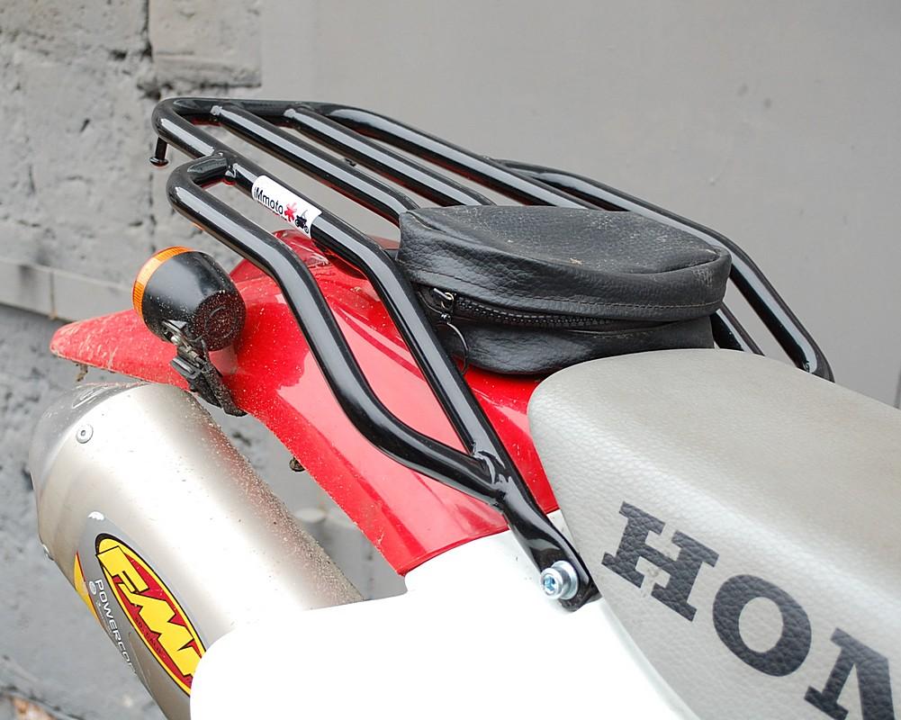Как самому сделать багажник на мотоцикл